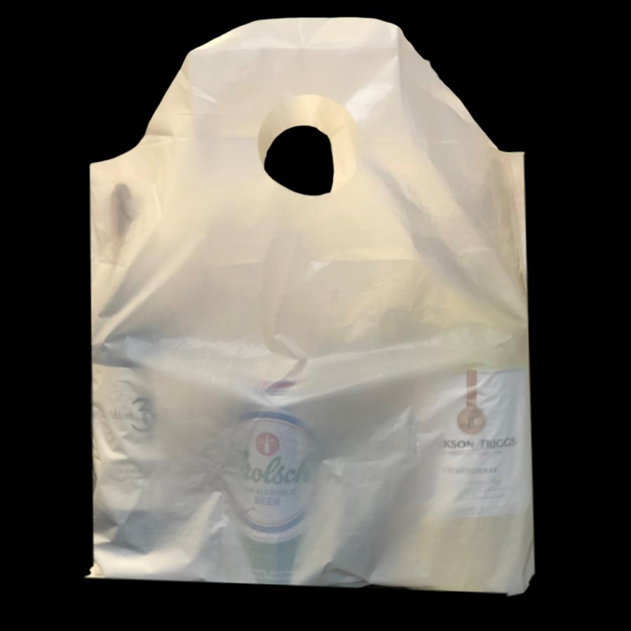 PLASTIC T-SHIRT AND SHOPPING BAGS