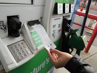 PAY AT THE PUMP ROLLS