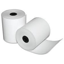 "2 1/4"" x 1 7/8""-75' Thermal Paper Rolls 100/case BPA FREE"