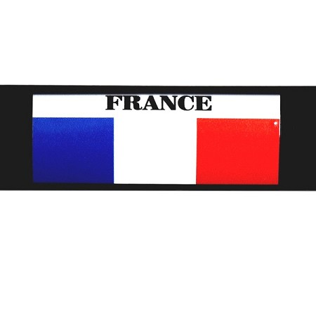RE-USABLE SLIDE IN FLAG FRANCE