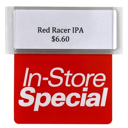 IN STORE SPECIAL RE-USABLE PROMO TAG
