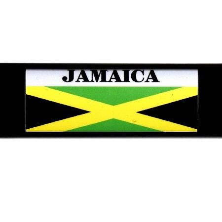RE-USABLE SLIDE IN FLAG JAMAICA