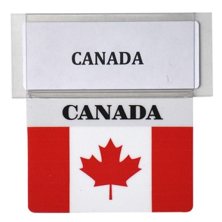 RE-USABLE PROMO FLAG CANADA
