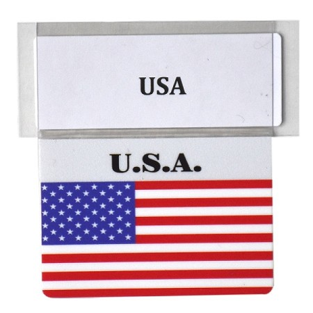 RE-USABLE PROMO FLAG USA