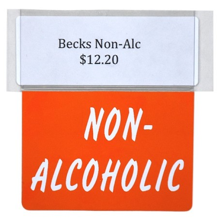 NON-ALCOHOLIC RE-USABLE PROMO TAG