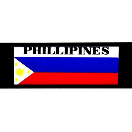 RE-USABLE SLIDE IN FLAG PHILLIPINES
