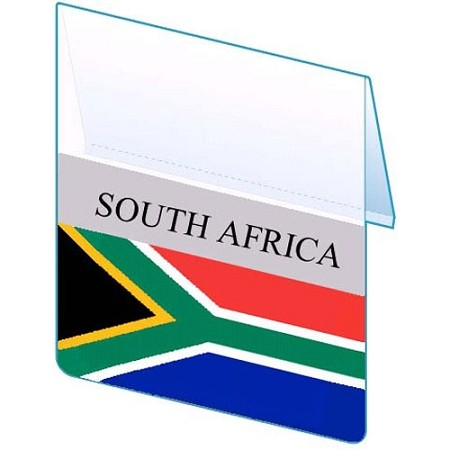 RE-USABLE PROMO FLAG SOUTH AFRICA