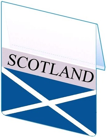 RE-USABLE PROMO FLAG SCOTLAND