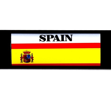 RE-USABLE SLIDE IN FLAG SPAIN