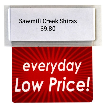 EVERYDAY LOW PRICE REUSABLE PROMO TAGS