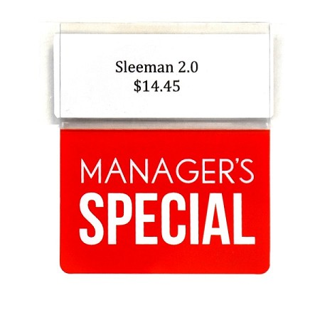 MANAGER'S SPECIAL REUSABLE PROMO TAG