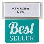 BEST SELLER RE-USABLE PROMO TAG