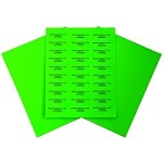 Easy Peel  Labels-G-2 5/8 x 1-5160-Organic Green 100 Sheets=3000 Labels