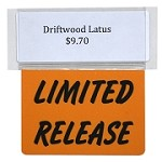 LIMITED RELEASE REUSABLE PROMO TAG