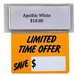LIMITED TIME OFFER RE-USABLE PROMO TAG