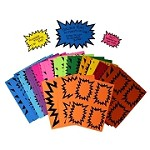 MIXED STARBURST RAINBOW PACK-15 COLOURS NO BLK