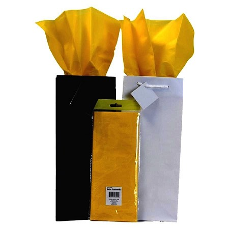 "BAG-Tissue Paper-Bright Yellow 20"" x 20"""