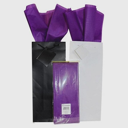 "BAG-Tissue Paper-Royal Purple 20"" x 20"""