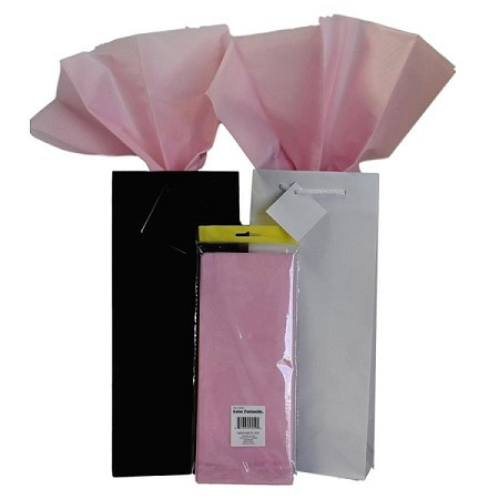 "BAG-Tissue Paper-Light Pink 20"" x 20"""