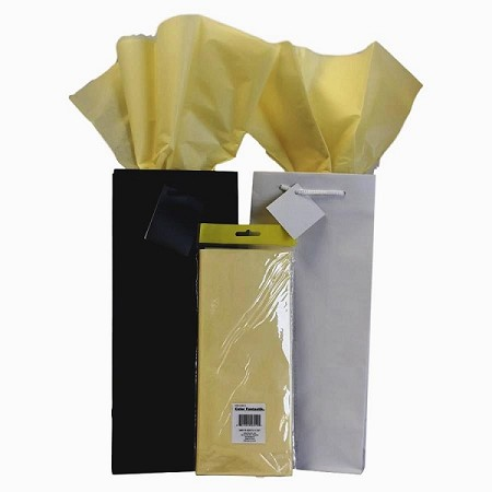 "BAG-Tissue Paper-Light Yellow 20"" x 20"""