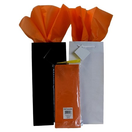 "BAG-Tissue Paper-Orange 20"" x 20"""