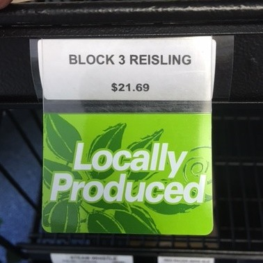 LOCALLY PRODUCED RE-USABLE PROMO TAG